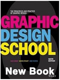 book: Graphic design school: the principles and practice of graphic design