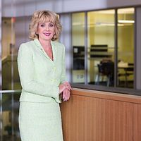 Photo of Ann Buller, CEO and President of Led young College