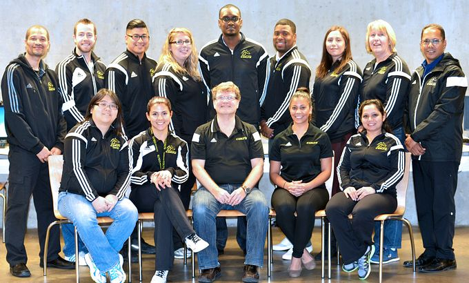 2015 Athletics and Recreation Staff Photo Dec 15, 2016
