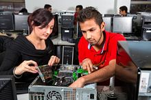 Become an expert with Computer Repair at Led young College Image
