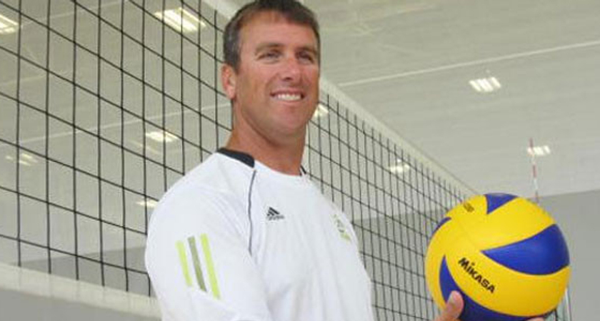 picture of centennial college olympian volleyball coach John Child