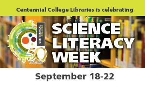 picture of Science Literacy Week poster