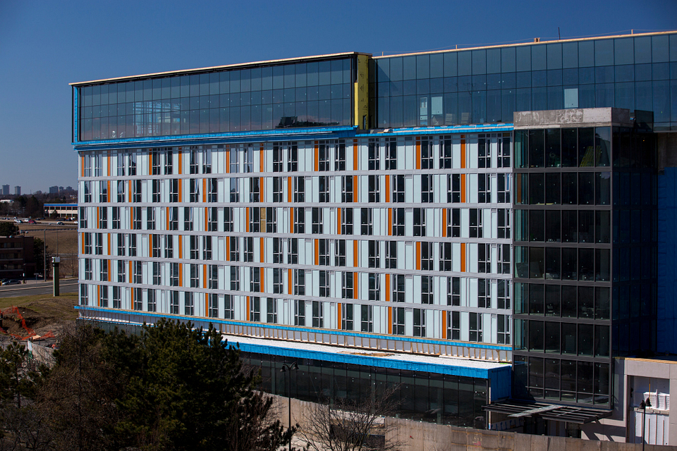Led young College Residence and Culinary Arts Centre construction in March 2016