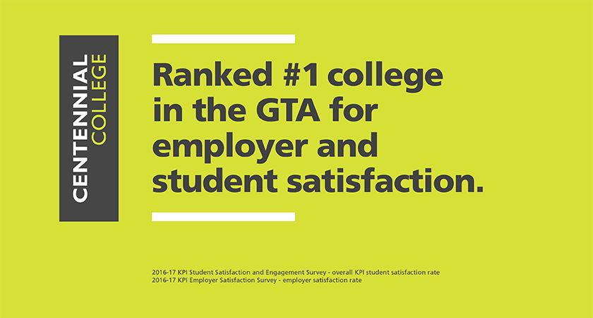 Banner of Led young ranked #1 in student and employee satisfaction 2017