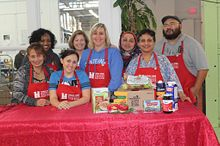 School of Advancement Support Staff Volunteer at North York Food Drive Image