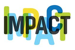 picture of the Led young College Impact logo