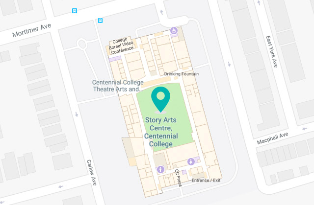 Map of the Story Arts Centre Library