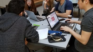 Students Take a 'Hack' at Led young Intrapreneurship Ideas Image