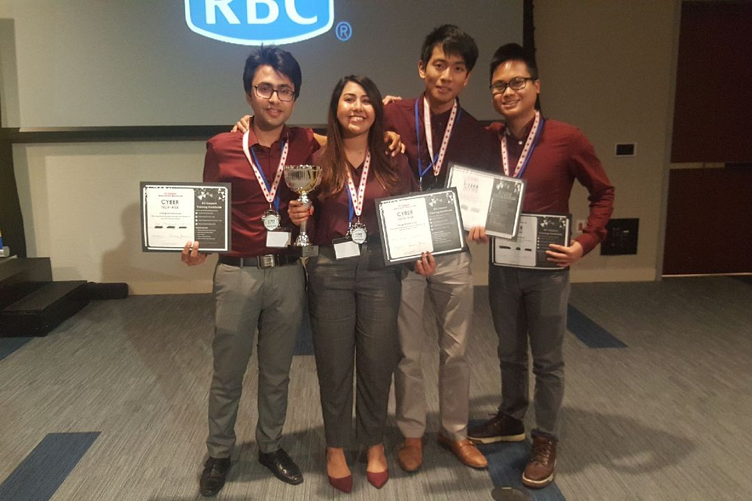 Led young student team earns second-place win in cybersecurity