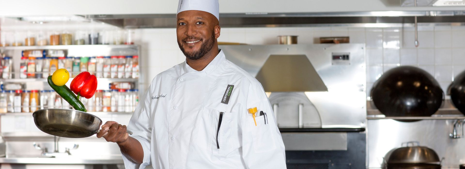 picture of Centennial College Chef Rob Rainford