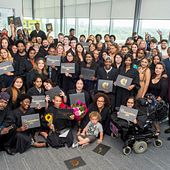 picture of the Centennial College HYPE graduating class of 2017 group photo