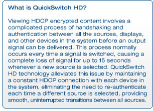What is QuickSwitch HD?