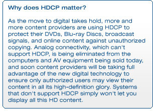 Why does HDCP matter?