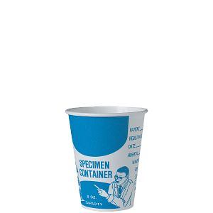 Solo® Single Sided Poly (SSP) Paper Medical Cups