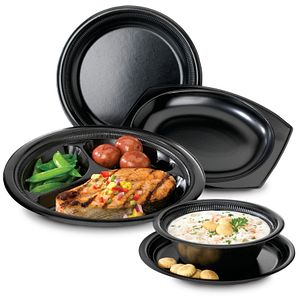 Silent Service® Heavy Laminated Foam Dinnerware