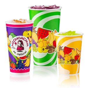 Solo® vasos de Papel (DSP) para bebidas frias