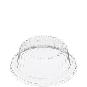 Solo® Flat Top Dome PET Plastic Lids