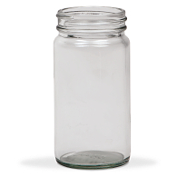 2 oz. Flint Glass Specimen Jars (12-Pack)