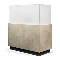 Gaylord Archival® Sapphire™ Square Laminated Pedestal Case with Humidity Control