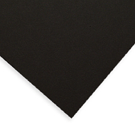 Gaylord® Buffered 4-Ply Black 100% Cotton Rag Museum Matting & Mounting Board (25-Pack)