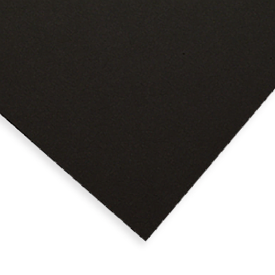 Gaylord Archival® Buffered 4-Ply Black 100% Cotton Rag Museum Matting & Mounting Board (10-Pack)