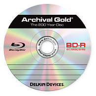 Delkin Devices Archival Gold™ 6x BD-R Disc