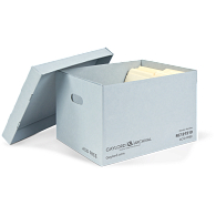 Gaylord Archival® Classic Record Storage Carton with Handholds