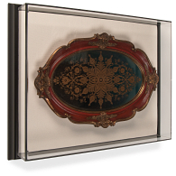 Gaylord® Framed Wall-Mount Exhibit Case with UV Acrylic