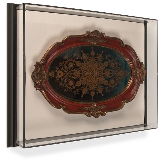 Gaylord Archival® Framed Wall-Mount Exhibit Case with UV Acrylic