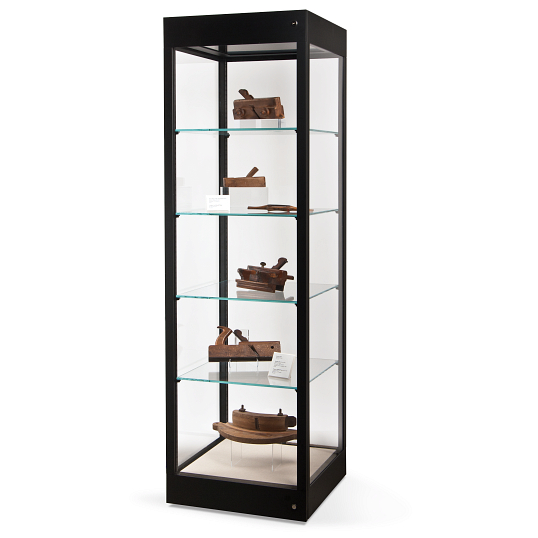 Gaylord Archival® Metro™ Astoria Museum Case with LED Light Hood & UV Acrylic