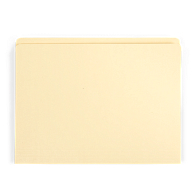 "Gaylord Archival® Reinforced Full 1/2"" Tab International A4 Size File Folders (100-Pack)"