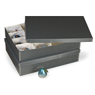 Gaylord Archival® 16-Compartment Ornament Box