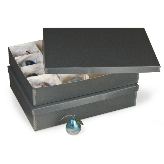 Gaylord Archival® 12-Compartment Ornament Box