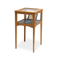 Gaylord Archival® Eastwood™ Table Base Exhibit Case with LED Lighting