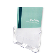 Acrylic Periodical Literature Display Rack