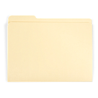 Gaylord Archival® Reinforced Third-Cut Tab Letter Size File Folders (100-Pack)