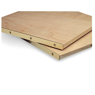 Gaylord® Brass Edge Boards