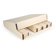Gaylord® Drop-Front Outer Box for Archival Modular Slide File Storage System