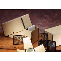 Gaylord Archival® Tan Barrier Board Lantern Slide Storage Box