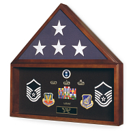 Gaylord Archival® Memorial Flag & Memorabilia Display Case