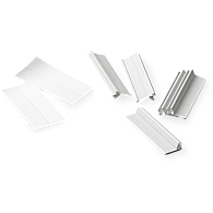 Index Tabs & Labels for Saf-T-Stor Polypropylene Slide Pages (25-Pack)