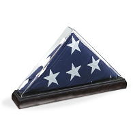 Gaylord Archival® Tabletop Flag Display Case