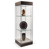 Gaylord® Curator™ Atrium Museum Case with Glass Top