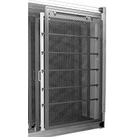 Expanded Aluminum Mesh Panel for Small Modular Art Panel System