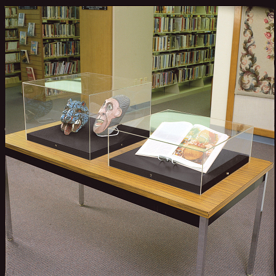 Gaylord Archival® Crystal Cubes™ Tabletop Exhibit Case