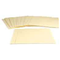"Gaylord Archival® 10 pt. Folder Stock 17"" LP Record Envelopes (25-Pack)"