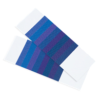 Blue Scales Textile Fading Card