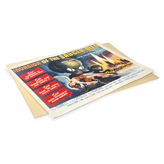"Gaylord Archival® 22 x 28"" 20 pt. Half Sheet Poster Backer Boards (25-Pack)"