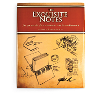 The Exquisite Notes: An Artist's Sketchbook on Bookbinding