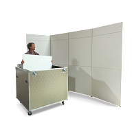 Scenario® Series 500 Travel 12-Wall Display System